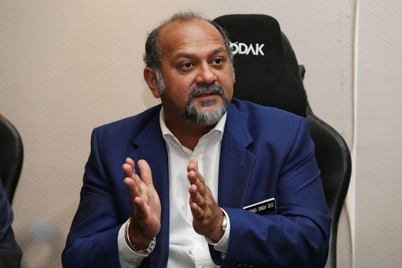 Communications and Multimedia Minister Gobind Singh Deo says the studio will be open sometime next year with the aim of making Malaysia a central gaming hub for South East Asia and eventually worldwide. ― Picture by Choo Choy May