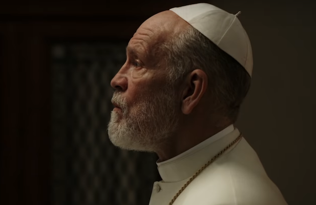 'The New Pope': John Paul III Takes Charge in New HBO Trailer (Video)