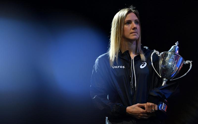 Laura Massaro is one of the greatest ever English squash players - AFP