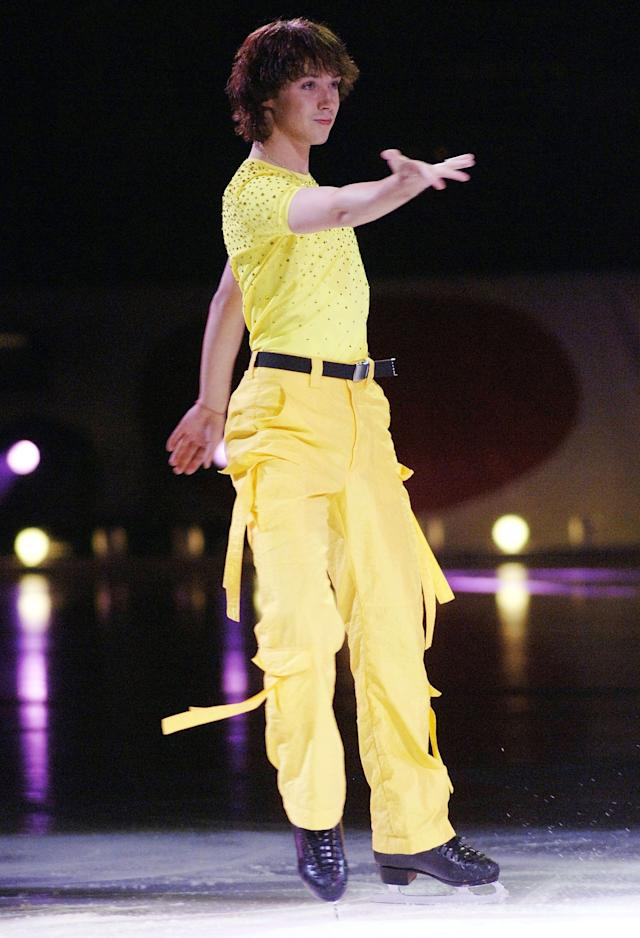 """Performingas part of """"Champions on Ice 2006"""" at the HP Pavilion on Aug. 5, 2006, in San Jose, California."""