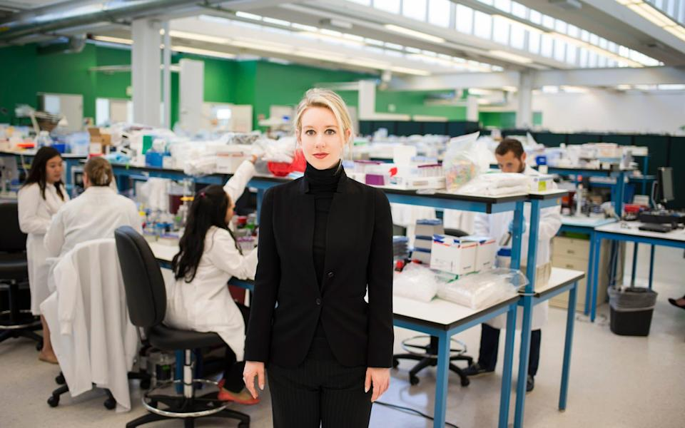 Elizabeth Holmes' ambition to revolutionise blood testing through biotechnology spawned one of the biggest frauds in Silicon Valley - HBO