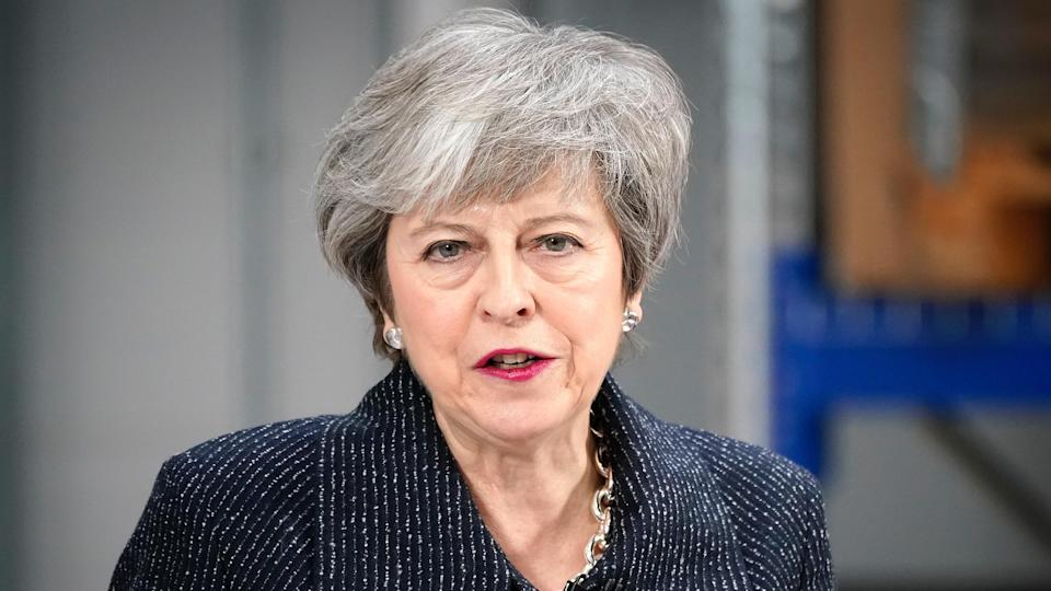 Theresa May's time in office has been marred by historic defeats over her handling of Brexit (PA News)