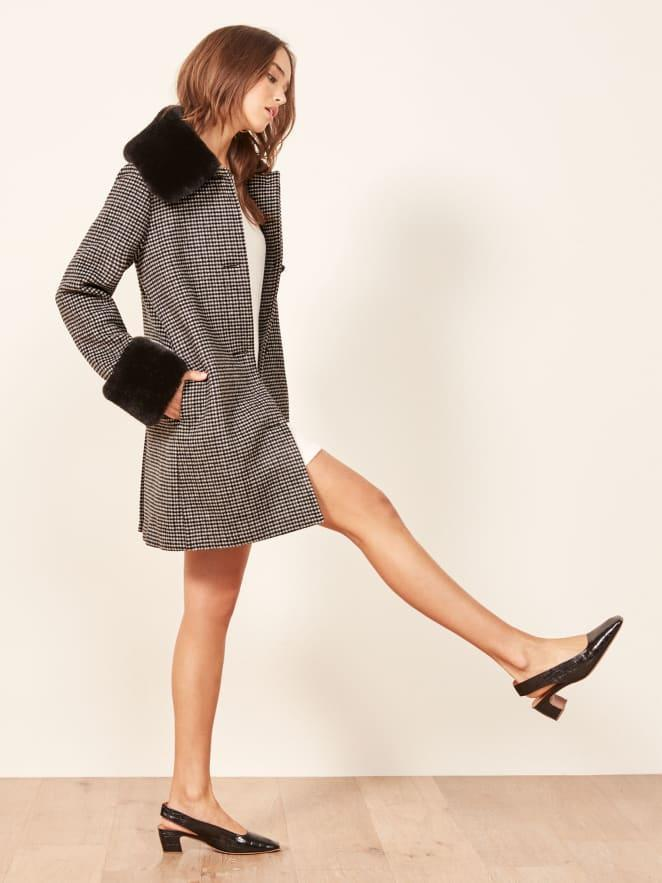 Reformation Lucille Coat. (Photo: Reformation)