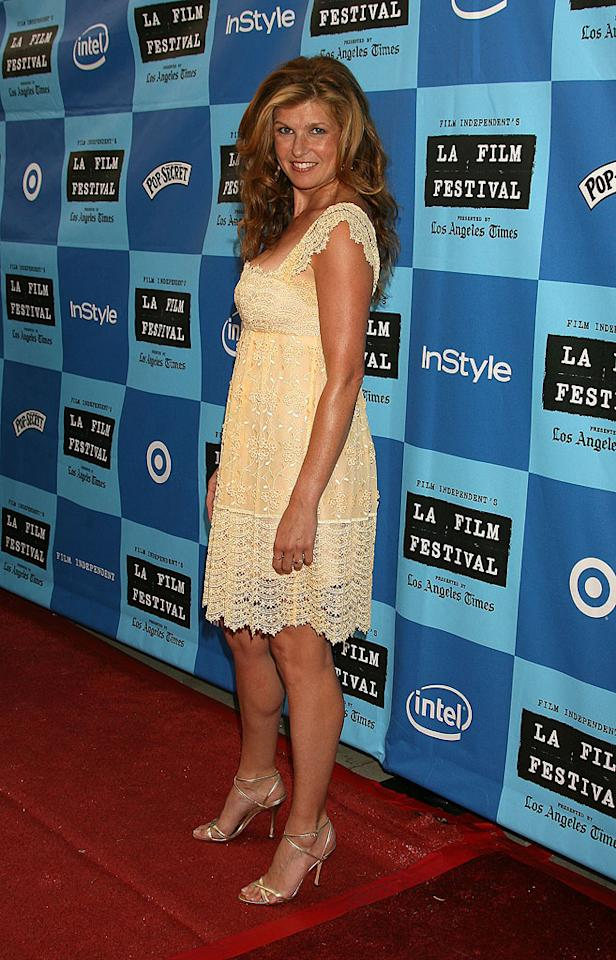 "Connie Britton at the 2006 Los Angeles Film Festival - ""The Lather Effect"" World Premiere and Q and A."