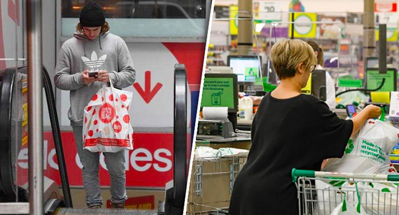 Coles and Woolies shoppers will be limited on toilet paper once again. Source: AAP