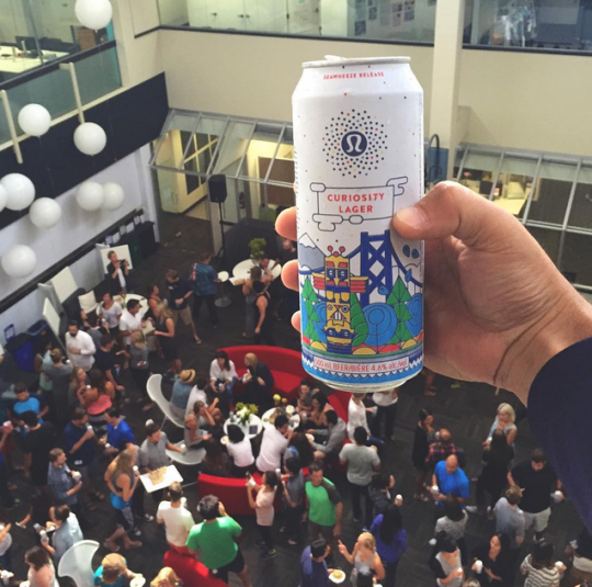 Lululemon's Making Beer For Yoga Bros