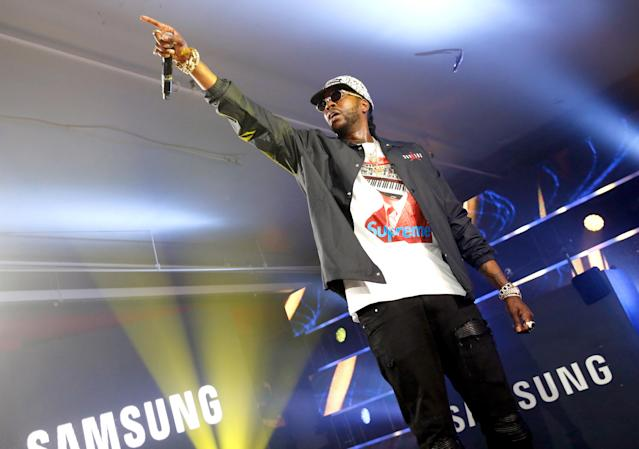 <p>Rapper 2 Chainz enrolled at Alabama State on scholarship and played for the basketball team from 1995 to 1997. He left before graduating and later finished when transferring Virginia State. </p>