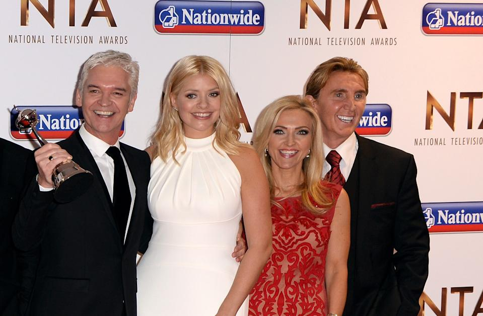 The Speakmans work with Phillip Schofield and Holly Willoughby on This Morning (Credit: PA)