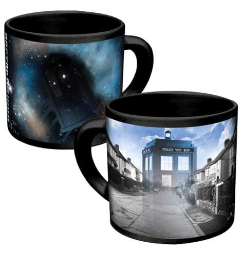 <p>There's more to <span>this mug</span> ($15) than meets the eye. Add hot water, and watch as the time machine disappears! </p>