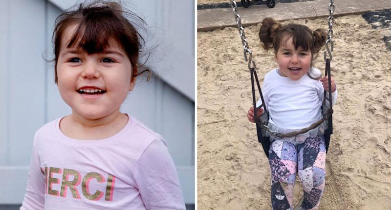 Sydney toddler Ruby Daddia, 4, has beta-propeller protein-associated neuro degeneration (BPAN).