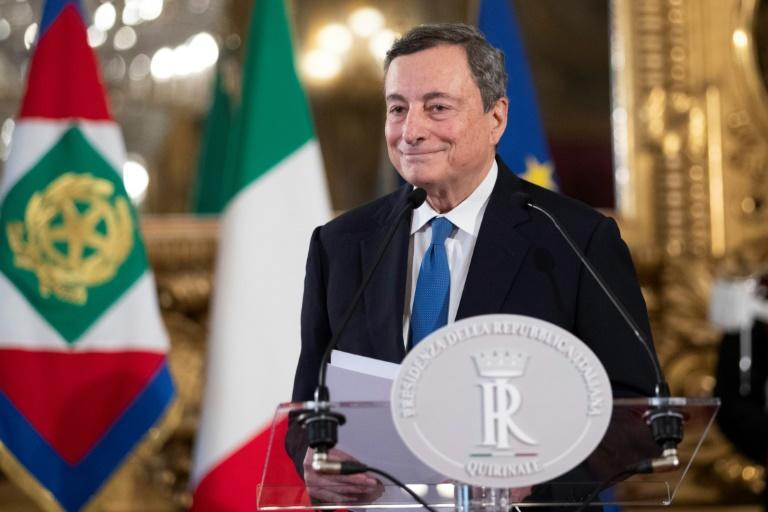 """Draghi is dubbed """"Super Mario"""" for extricating the eurozone from its debt crisis in the last decade"""