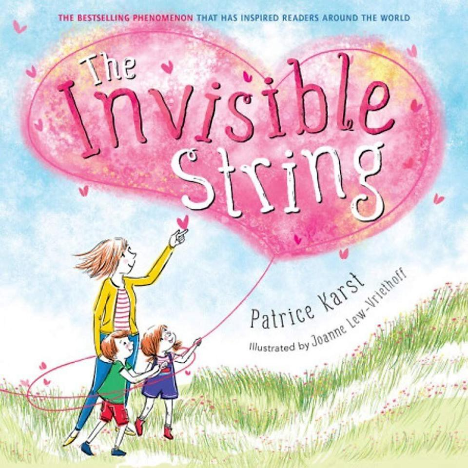 """""""The Invisible String"""" helps children cope with difficult emotions like loss and anxiety. <i>(Available <a href=""""https://www.amazon.com/Invisible-String-Patrice-Karst/dp/031648623X"""" target=""""_blank"""" rel=""""noopener noreferrer"""">here</a>.)</i>"""