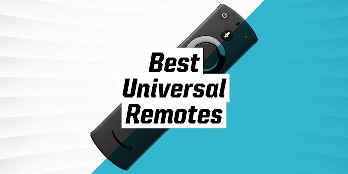 """<p>Home entertainment systems often include more than just a TV and sound system these days. Add in a few smart-home gadgets, and suddenly, you're corralling an army of devices. Stop the madness with a universal remote, and your crew of clickers—Apple TV, surround speakers, Blu-ray, Roku, and more—can work with just one universal remote. </p><p>Bonus: Because these remotes have been through multiple iterations, they are now more intuitively designed and smaller, rendering them more usable and less clunky than they were just a few years ago. </p><h3 class=""""body-h3""""><strong>What to Look For</strong></h3><p>The best remotes take ergonomics, intuitive use and size into consideration, while also boasting numerous capabilities and pairing with a large number of brands. The best in class will also work in tandem with smart devices and voice control systems. Keep in mind though, that some remotes work with some systems and not others; where relevant, we indicated that below. Ideally, a universal remote can be used for many years, so think about all of the ways you'll want to use it now and in the near future. </p><h3 class=""""body-h3""""><strong>How We Selected</strong></h3><p>We reviewed hundreds of options, and picked the most user-friendly, attractive and practical options available. We also took warranties, customer support options and user reviews into account, ultimately only including highly rated products. Several of our options include remotes rated 4.5 stars and above. </p>"""