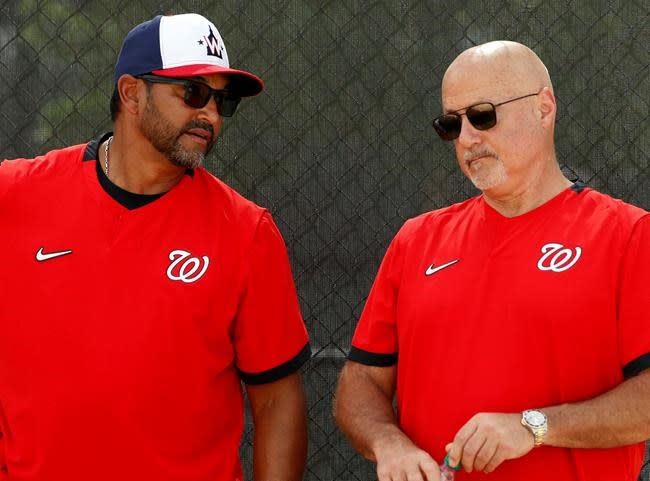 AP Source: Martinez, Nationals agree to extend his contract