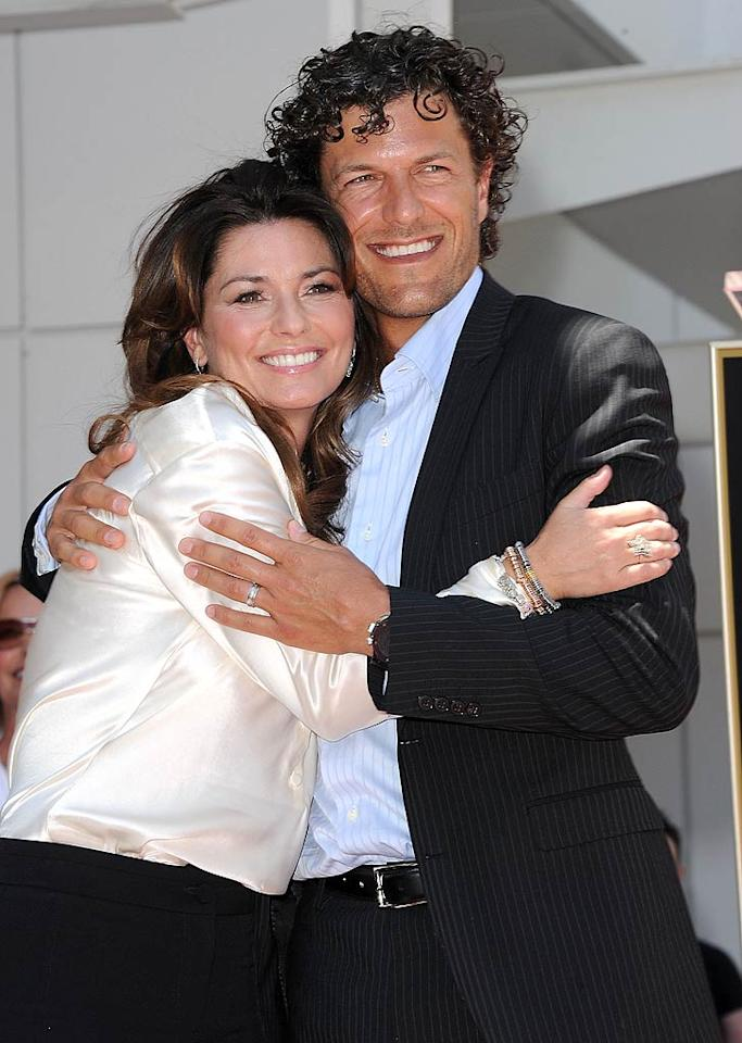 When country singer Shania Twain split with her husband of 14 years after she discovered he had an affair with her then-best friend in 2008, little did she know that it was the beginning of her happily ever after. The Canadian songstress formed a bond with the other woman's ex, Frederic Thiebaud, whom she ended up marrying in Puerto Rico on New Year's Day. Does this sound like a Lifetime movie to anyone else?