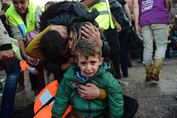Hundreds of thousands of Syrian migrants have poured into Europe (AFP Photo/Bulent Kilic)