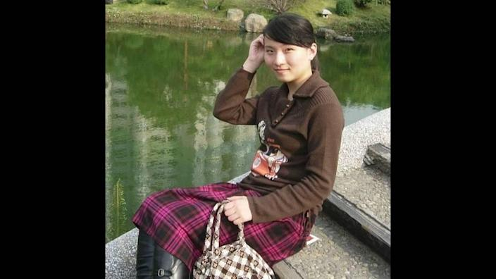 Yujing Zhang in a photo posted on her social media account in 2008.