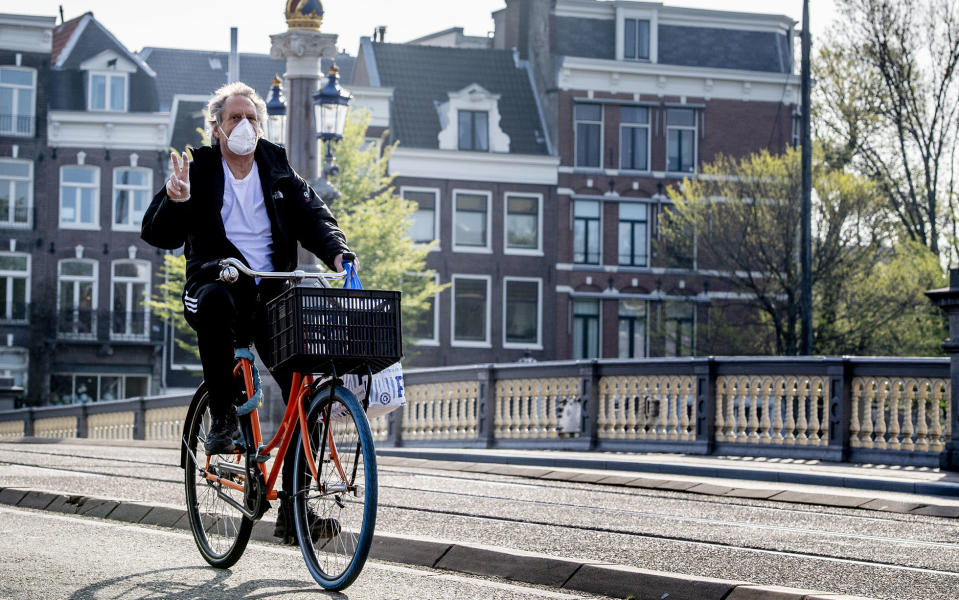 As of today, face masks are mandatory in parts of Amsterdam - Getty