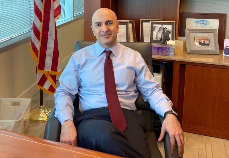 Fed's on hold but next move may be rate cut, Kashkari says