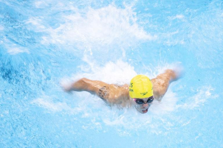 Paralympians are competing in the last day of swimming in Tokyo (AFP/CHARLY TRIBALLEAU)
