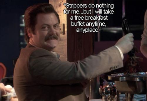 Parks and Recreation: All of Ron Swansons Quotes About Meat in One ...