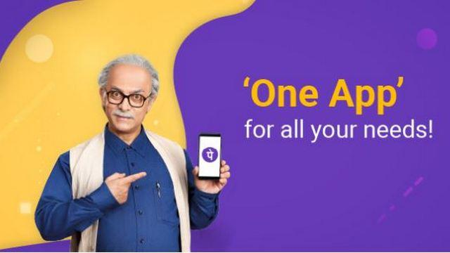 Aamir Khan has been roped in as the brand ambassador for PhonePe. Image: PhonePe