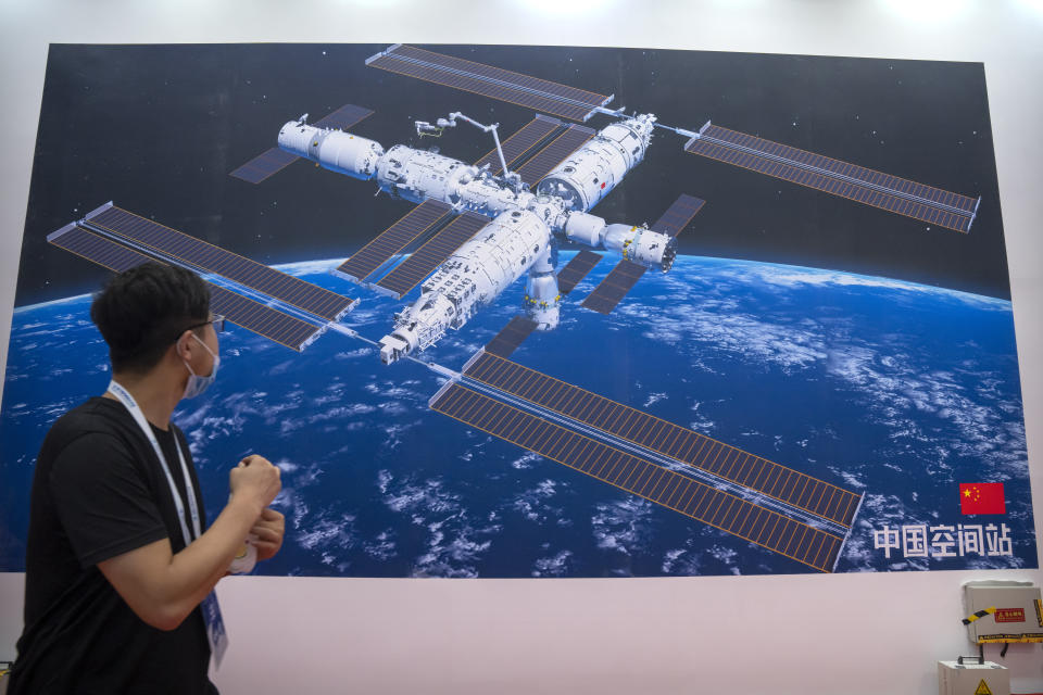 Artist's impression of China's space station