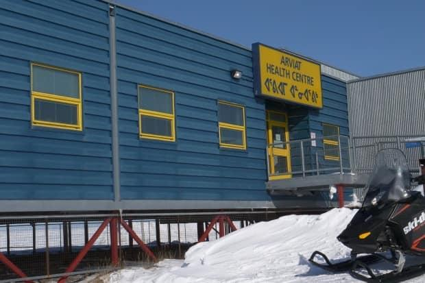 The Arviat health centre. Residents who think they have COVID-19 symptoms are asked to isolate at home and call their local health centre to make arrangements for testing. (David Gunn/CBC - image credit)