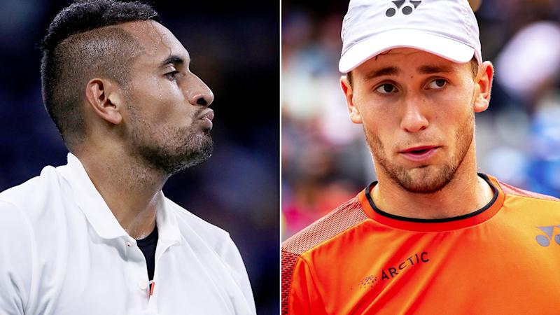 Nick Kyrgios and Casper Ruud have engaged in a war of words since playing in Rome.
