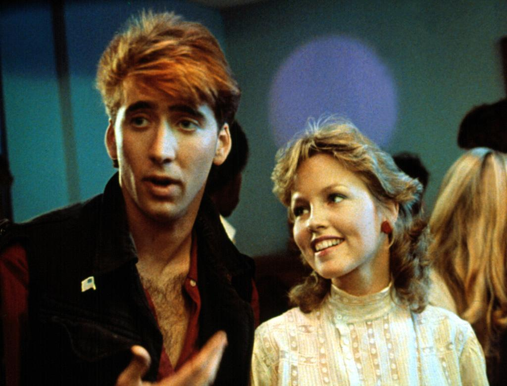 """<a href=""""http://movies.yahoo.com/movie/1800131552/info"""">VALLEY GIRL</a> -- The Flock of Seagulls    Nic's New-Wave carrot top is, like, so totally awesome."""