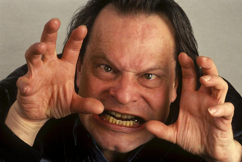 FRANCE - FEBRUARY 01: Stars' Faces at Gerardmer Film Festival In Gerardmer, France In February, 1994 - Terry Gilliam, director. (Photo by Francis DEMANGE/Gamma-Rapho via Getty Images)