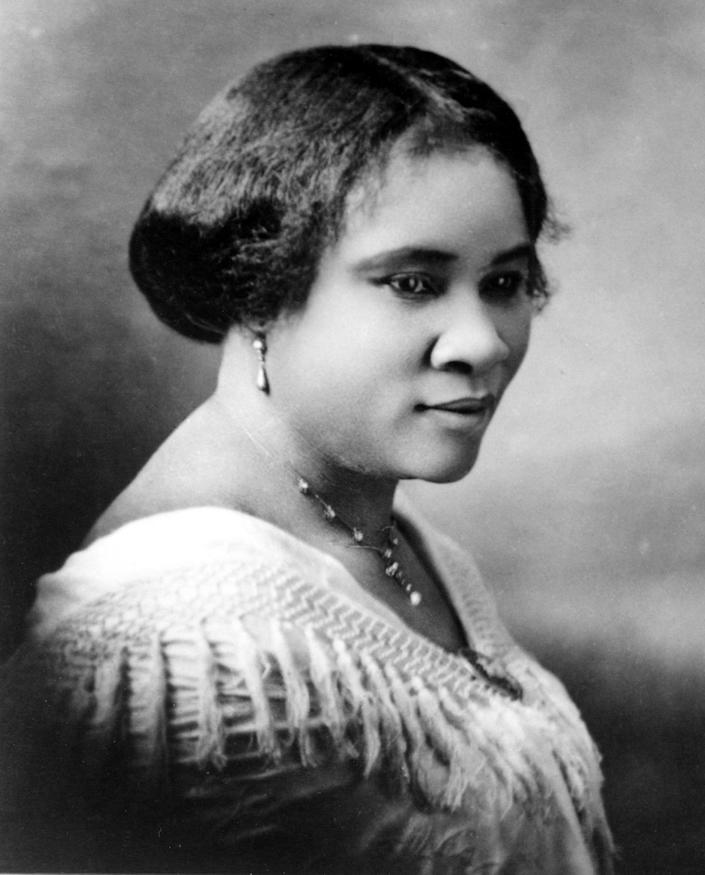 <p>The most successful female entrepreneur of her time, Madam C.J. Walker (Sarah Breedlove), created a line of beauty and hair care products for African-American women, became the first female self-made millionaire in America. (Photo: Michael Ochs Archives/Getty Images) </p>