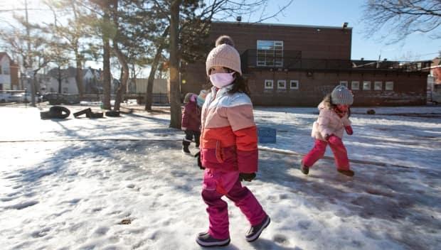 To date, Regina Catholic Schools' kindergarten students have been attending classes for half-days each day. (Evan Mitsui/CBC - image credit)