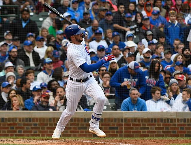 "Kris Bryant sounds like a confident Cub: ""We're good and we're going to be good and there's no need to worry."" (AP)"