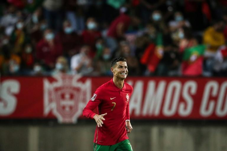 Cristiano Ronaldo scored twice from the penalty spot in the first half for Portugal (AFP/CARLOS COSTA)