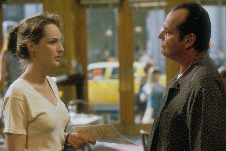 Jack Nicholson was 60 and Helen Hunt was 34 in 'As Good As It Gets' Age gap: 26 years