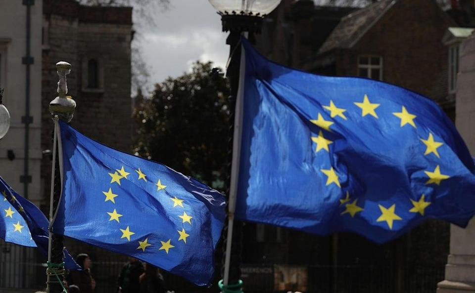 A letter to immigration minister Kevin Foster,sent jointly from Scottish, Welsh and Northern Irish ministers, warns of 'a number of difficulties' EU citizens face in not having physical proof of their status (AFP/Getty)