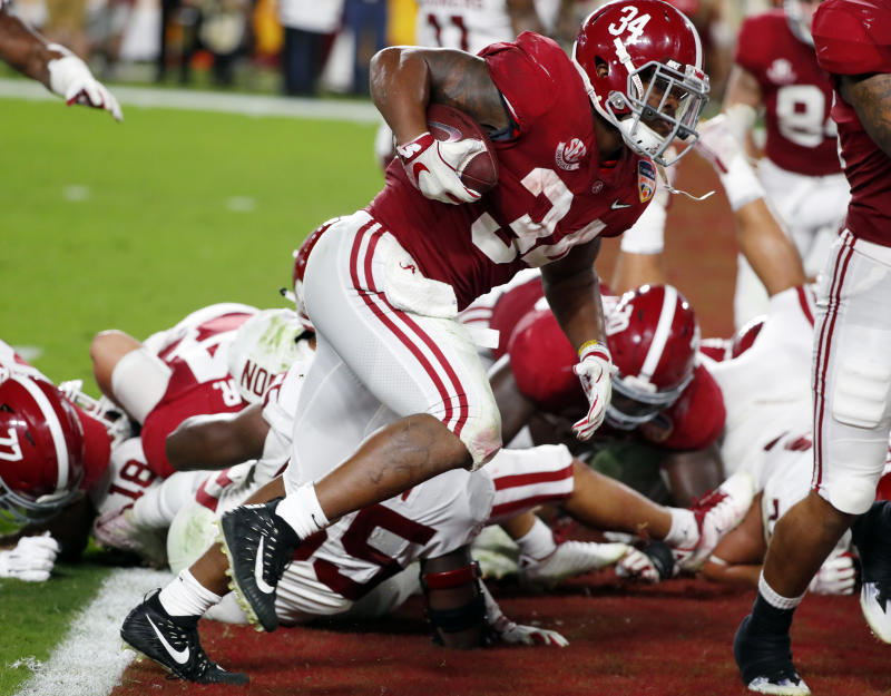 Alabama Beats Oklahoma 45 34 In Orange Bowl