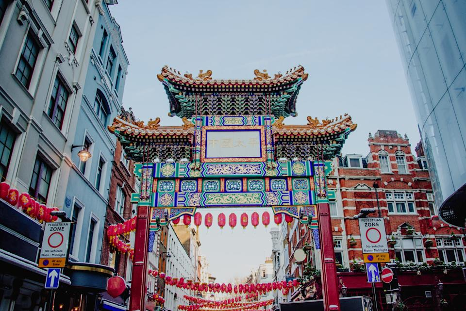 London's Chinatown - getty