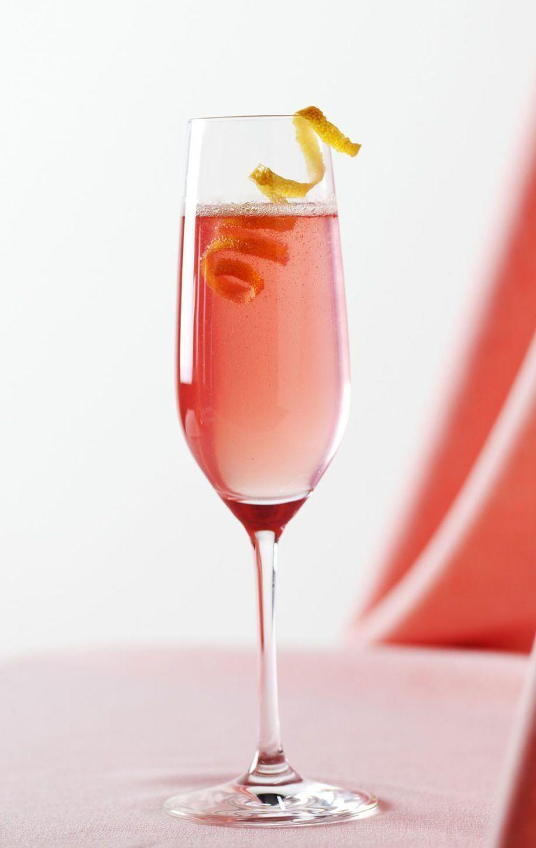 """<p>Turn a glass of bubbly into a fun Easter cocktail with the help of some bitters, lemon zest, and garnish. </p><p><strong><em><a href=""""https://www.womansday.com/food-recipes/food-drinks/recipes/a38787/classic-champagne-cocktail-recipe-rbk0113/"""" rel=""""nofollow noopener"""" target=""""_blank"""" data-ylk=""""slk:Get the Classic Champagne Cocktail recipe."""" class=""""link rapid-noclick-resp"""">Get the Classic Champagne Cocktail recipe. </a></em></strong></p>"""