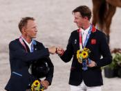 Equestrian - Jumping - Individual - Medal Ceremony