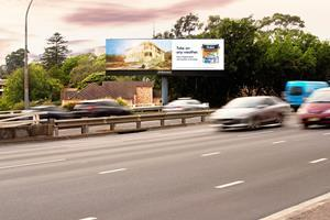 Dulux digital out of home campaign