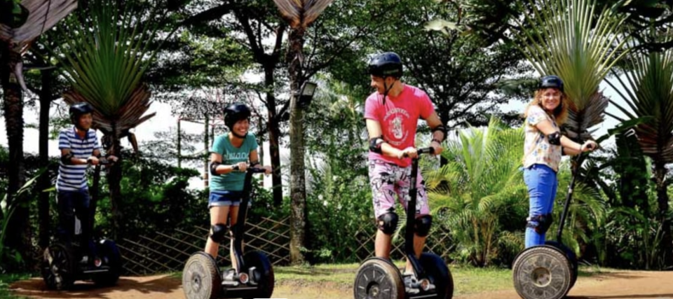 PHOTO: Klook. Go Green Segway® Tours and Sentosa Bike Rental