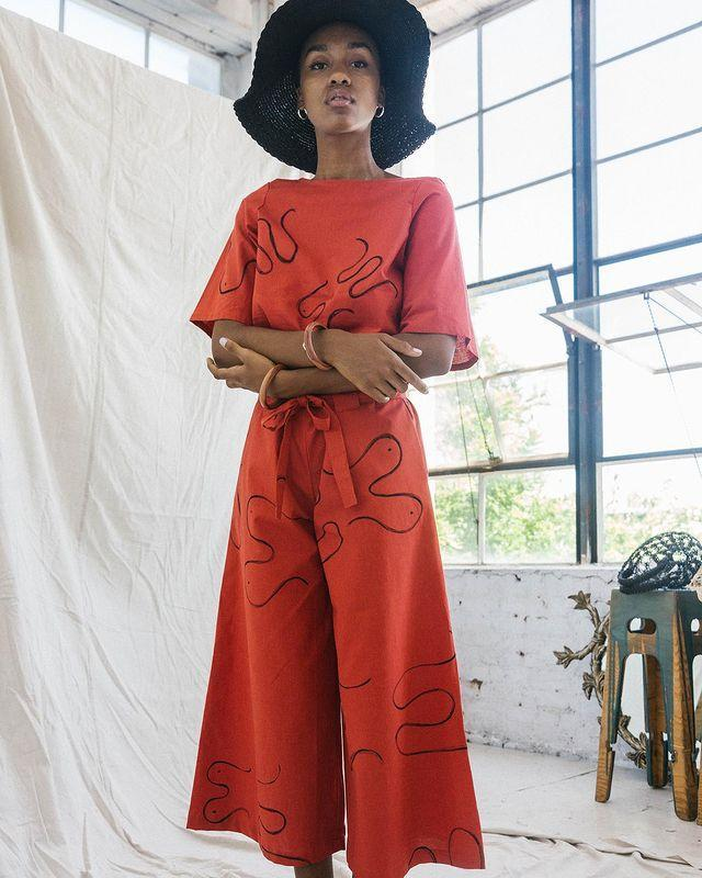 """<p>Who: Chelsea Bravo</p><p>What: 'Chelsea Bravo's collections now feature both womenswear and menswear, creatively infusing an artistic hand combined with simple and free shapes through a contemporary silhouette. Pieces are sampled and made-to-order in-house.'</p><p><a class=""""link rapid-noclick-resp"""" href=""""https://www.chelseabravo.com/shop"""" rel=""""nofollow noopener"""" target=""""_blank"""" data-ylk=""""slk:SHOP CHELSEA BRAVO NOW"""">SHOP CHELSEA BRAVO NOW</a></p><p><a href=""""https://www.instagram.com/p/Bza-hVtgofX/"""" rel=""""nofollow noopener"""" target=""""_blank"""" data-ylk=""""slk:See the original post on Instagram"""" class=""""link rapid-noclick-resp"""">See the original post on Instagram</a></p>"""