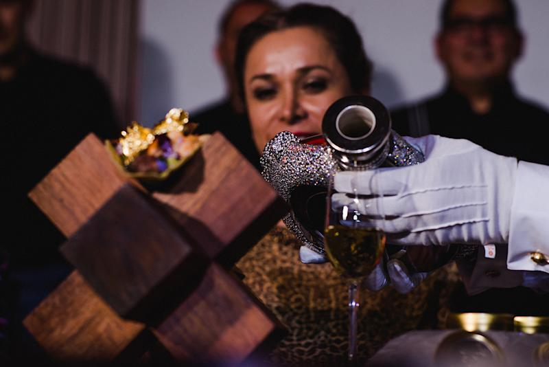 At the charity live auction event, patrons had the opportunity to purchase the world's most expensive taco. (Grand Velas)