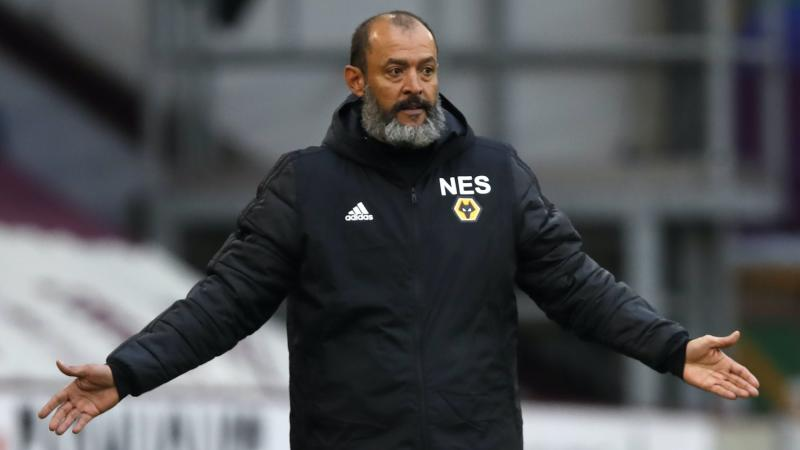 Nuno urges Wolves to move on from Burnley disappointment in European battle