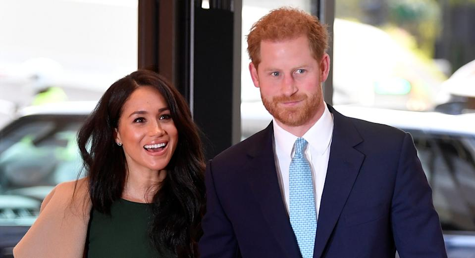 Meghan Markle and Prince Harry have been spotted hiking and jogging during their festive break in Canada [Image: Getty]