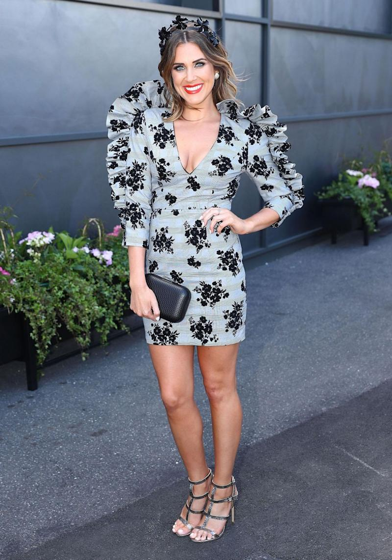 Could Georgia be replacing Lisa Wilkinson on Nine's Today show - Georgia pictured at the 2017 Derby Day in Melbourne on Saturday. Source: Getty