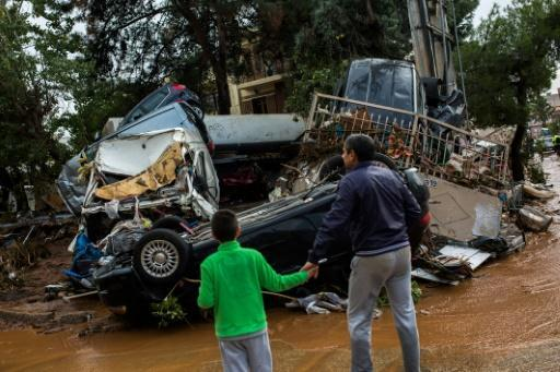 <p>Greek flooding toll reaches 19, as more bodies found</p>