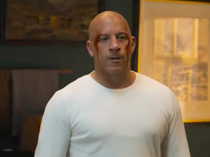 "Vin Diesel in ""Fast and Furious 9"" <p class=""copyright"">Universal</p>"